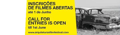 Arquiteturas Film Festival 2014 | Inscrições Abertas até 1 de Junho de 2014